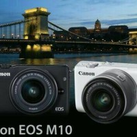 CANON EOS M10 KIT 15-45 IS STM BERGARANSI RESMI CANON / CANON EOS M10