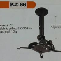 bracket breket proyektor infocus LCD ceiling plafon kz-66