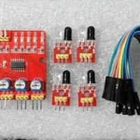 4way infrared tracking line sensor module for android robot smart car