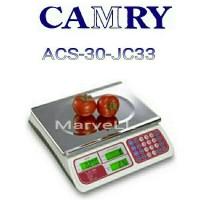 Jual Timbangan digital price camry acs-30-jc33 utk laundry,buah,paket,dll Murah