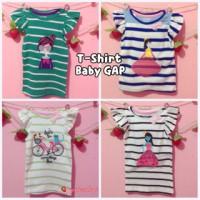 Kaos atasan baby Gap stripes