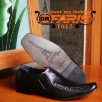 Sepatu Formal Lebaran Dr. Faris Oroginal Pantofel Kulit Asli