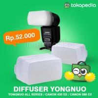 diffuser / difuser flash speedlite Yongnuo 460, 560 560II 560III 560IV