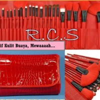 Brush Fabulous & Soft RED makeup for you ~ kuas make up set 24 pcs