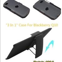 Impact Armor Casing Case Cover Belt Clip Holster BB Blackberry Q10