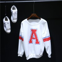 sweater tangan panjang wanita blouse korea baseball tee baju dingin