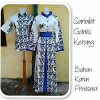 Jual baju couple/sarimbit/sarimbit batik/couple gamis/busana muslim Murah