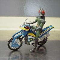 Mainan Action Figure Rider Machine Chronicles Kamen Rider Black RX