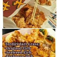 Tepung Crispy Chicken ala Street food Taiwan Original (Shilin)