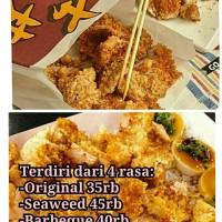 Tepung Crispy Chicken ala Street food Taiwan Seaweed ( Shilin)