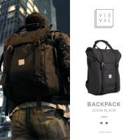 Jual Tas Ransel Bodypack Visval Zoom Black Murah