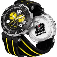 Tissot T-race Tom Luthi Edition Yellow Silver Combi Rubber