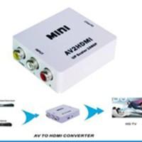 Convertor Rca Av To Hdmi Adaptor