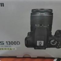 Canon EOS 1300D Kit 18-55mm Mark III / Lensa Non Is