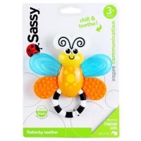 mainan bayi Sassy Flutterby Teether