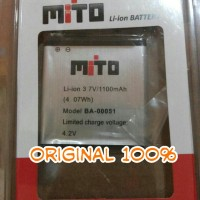 ORIGINAL Baterai Batre Batere Battery Mito A210 / A810 / BA-00051 A200