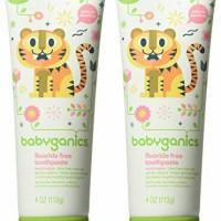 Babyganics Fluoride Free Toothpaste - Watermelon