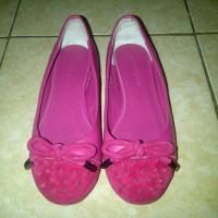 harga Sepatu Flat Wanita Andrew Shocking Pink Tokopedia.com