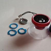 Fisheye MAGNET. lensa CEMBUNG wide u/ kamera HANDPHONE HP