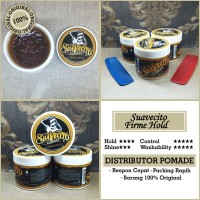 Pomade Suavecito Firme Hold Free Sisir