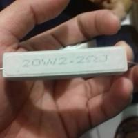 resistor 20w tipe apa aja ada bikin di keterangan aja nilainya