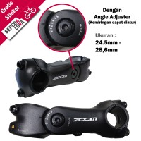 harga Stem Ahead Sepeda Zoom Normal Dengan Angle Adjuster Tokopedia.com