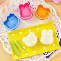 Bento (isi 3pcs ) Rice Mold