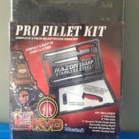 Mustad KVD Pro Fillet 6-Piece Knife Set w/ Cutting Board