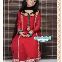 harga Baju anak cewe sari india merah set (size besar) Tokopedia.com