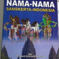 Nama -Nama Sansekerta Indonesia