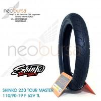 ban SHINKO 230 (F) 110/90 -19 (62V) Tourmaster / Touring / Kustom