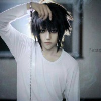 Wig L Death Note Import RSW cosplay wig cowok