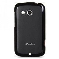 SALE!!! MELKCO Case Poly Jacket HTC Desire C - Black [GARANSI]