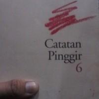 harga CATATAN PINGGIR 6, GOENAWAN MOHAMAD Tokopedia.com