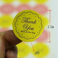 "LABEL / STICKER ""THANK YOU"""