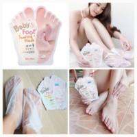 BABY FOOT PEELING MASK - masker kaki