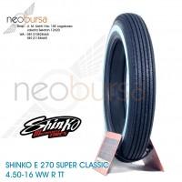 ban SHINKO E270 (U) 4.50-18 WW (70H) Super Klasik / Kustom