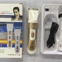 HAIR TRIMMER / CLIPPER / ALAT CUKUR RAMBUT KUMIS JENGGOT BULU RECHARGE