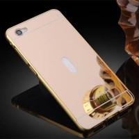Luxury Bumper + Mirror Plate Case Vivo X5 Pro