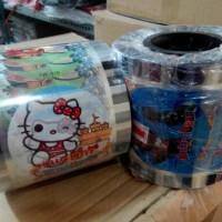 Plastik Cup Lid Sealer (Motif Kartun, Game, dll)