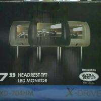 Headrest Monitor Mobil Livina Vioa Yaris Ertiga