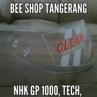 harga Kaca helm NHK GP 1000, Tech Gp 1000 Tokopedia.com