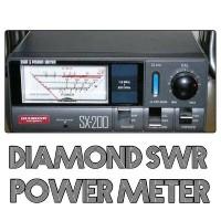 Swr Power Meter Diamond Sx 200