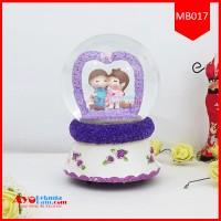 Snowball Music Box Couple Love | Music Box Couple Love Murah