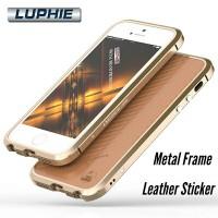 ORIGINAL 100% BUMPER LUPHIE + STICKER CASE APPLE IPHONE 5/5S