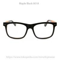 harga Kacamata Kayu Maple Black 001A Tokopedia.com