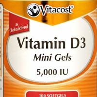Vitamin D3 5000 IU 100 softgels Vitacost Vitamin D Natural