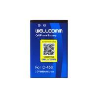 Wellcomm Battery Double IC Samsung SGH-C450