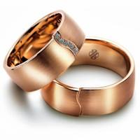 cincin emas murni untuk tunangan