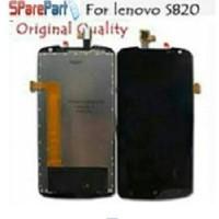 Lcd + Touchscreen + Frame Lenovo S820 Fullset